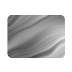 Wave Form Texture Background Double Sided Flano Blanket (Mini)