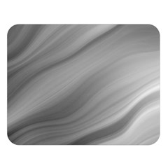 Wave Form Texture Background Double Sided Flano Blanket (Large)
