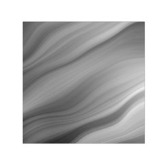 Wave Form Texture Background Small Satin Scarf (square)