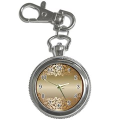 Floral Decoration Key Chain Watches