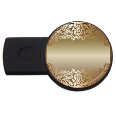 Floral Decoration USB Flash Drive Round (1 GB)