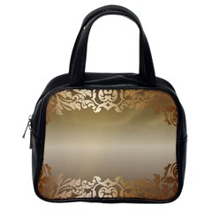 Floral Decoration Classic Handbags (One Side)