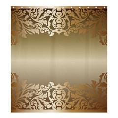 Floral Decoration Shower Curtain 66  X 72  (large)