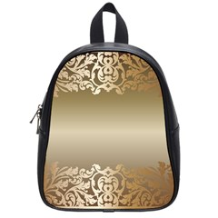 Floral Decoration School Bags (Small)