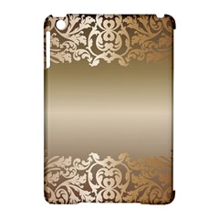Floral Decoration Apple iPad Mini Hardshell Case (Compatible with Smart Cover)