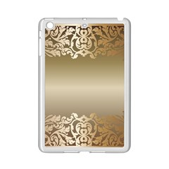 Floral Decoration iPad Mini 2 Enamel Coated Cases