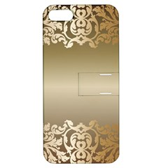 Floral Decoration Apple iPhone 5 Hardshell Case with Stand