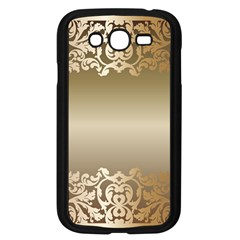 Floral Decoration Samsung Galaxy Grand DUOS I9082 Case (Black)