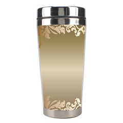 Floral Decoration Stainless Steel Travel Tumblers
