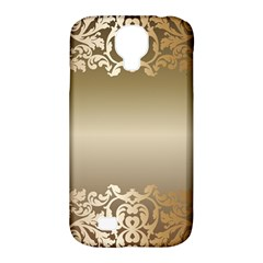 Floral Decoration Samsung Galaxy S4 Classic Hardshell Case (PC+Silicone)