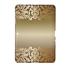 Floral Decoration Samsung Galaxy Tab 2 (10.1 ) P5100 Hardshell Case