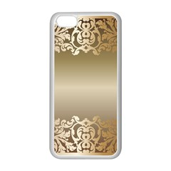 Floral Decoration Apple iPhone 5C Seamless Case (White)