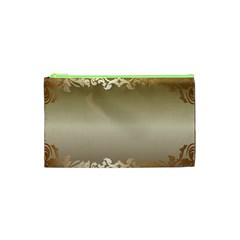 Floral Decoration Cosmetic Bag (XS)