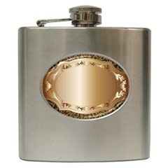 Floral Hip Flask (6 oz)