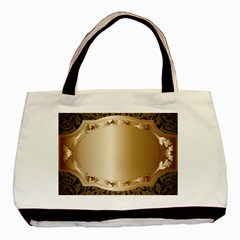 Floral Basic Tote Bag (Two Sides)