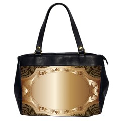 Floral Office Handbags (2 Sides)