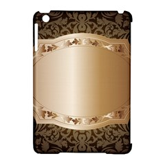 Floral Apple iPad Mini Hardshell Case (Compatible with Smart Cover)