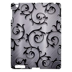 Floral Apple iPad 3/4 Hardshell Case