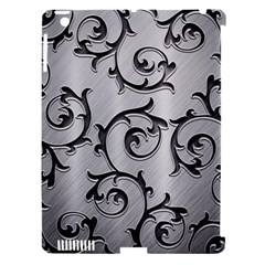 Floral Apple iPad 3/4 Hardshell Case (Compatible with Smart Cover)