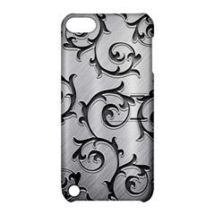 Floral Apple Ipod Touch 5 Hardshell Case With Stand