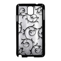 Floral Samsung Galaxy Note 3 Neo Hardshell Case (Black)