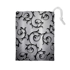 Floral Drawstring Pouches (Large)