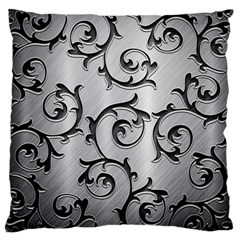 Floral Standard Flano Cushion Case (One Side)