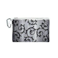 Floral Canvas Cosmetic Bag (S)