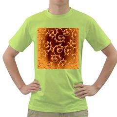 Floral Vintage Green T-Shirt