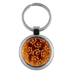 Floral Vintage Key Chains (Round)