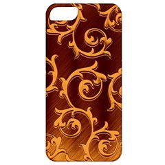 Floral Vintage Apple iPhone 5 Classic Hardshell Case