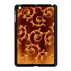 Floral Vintage Apple iPad Mini Case (Black)