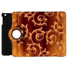 Floral Vintage Apple iPad Mini Flip 360 Case
