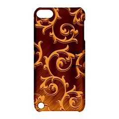 Floral Vintage Apple iPod Touch 5 Hardshell Case with Stand