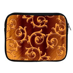 Floral Vintage Apple iPad 2/3/4 Zipper Cases