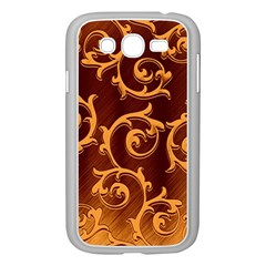 Floral Vintage Samsung Galaxy Grand DUOS I9082 Case (White)