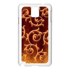 Floral Vintage Samsung Galaxy Note 3 N9005 Case (white)