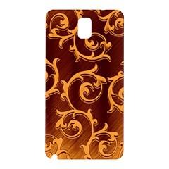Floral Vintage Samsung Galaxy Note 3 N9005 Hardshell Back Case