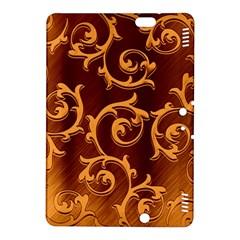 Floral Vintage Kindle Fire HDX 8.9  Hardshell Case