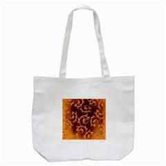 Floral Vintage Tote Bag (White)
