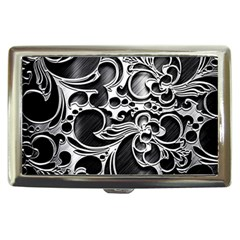Floral High Contrast Pattern Cigarette Money Cases