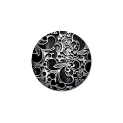 Floral High Contrast Pattern Golf Ball Marker (10 pack)
