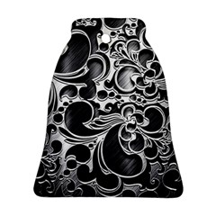 Floral High Contrast Pattern Ornament (Bell)