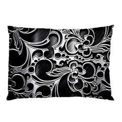 Floral High Contrast Pattern Pillow Case (Two Sides)