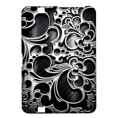 Floral High Contrast Pattern Kindle Fire HD 8.9