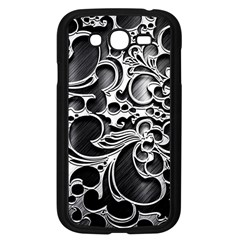 Floral High Contrast Pattern Samsung Galaxy Grand DUOS I9082 Case (Black)