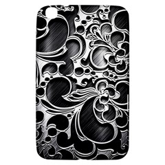 Floral High Contrast Pattern Samsung Galaxy Tab 3 (8 ) T3100 Hardshell Case