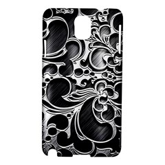 Floral High Contrast Pattern Samsung Galaxy Note 3 N9005 Hardshell Case