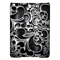 Floral High Contrast Pattern iPad Air Hardshell Cases