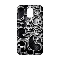 Floral High Contrast Pattern Samsung Galaxy S5 Hardshell Case